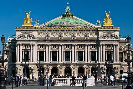 Teatro Opera Garnier, Paris.