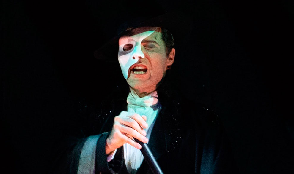 El Fantasma de la Opera.