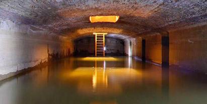 Lago, Agua Subterranea de Opera Garnier