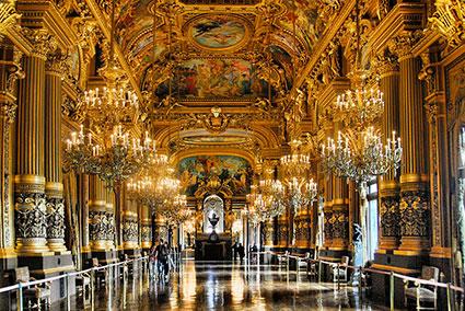 Teatro Opera Garnier. París.